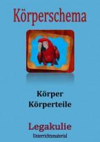 Legakulie-Koerperschema-Koerperteile-Koerper