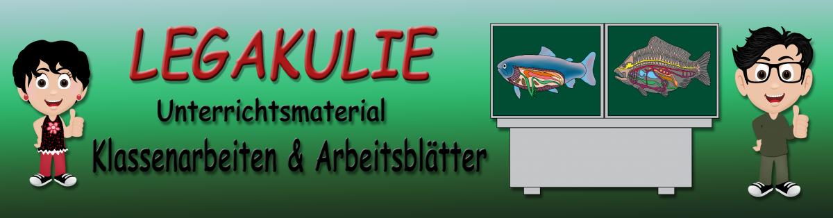 Legakulie Onlineshop Klassenarbeiten Arbeitsblätter Sabine Eckhardt