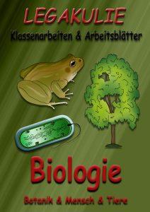 Biologie Legakulie Arbeitsblätter Klassenarbeiten PDF