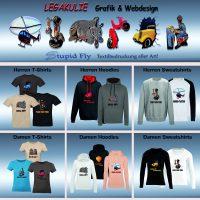 Homepage Legakulie Grafik & Webdesign StupidFly